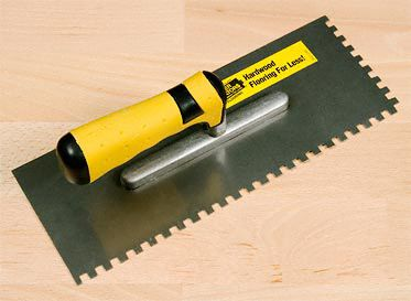 1/4&#034; x 1/4&#034; Square-Notch Trowel